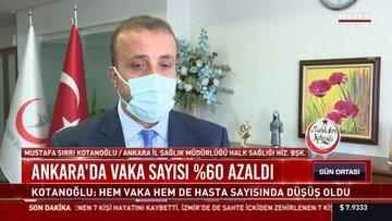 Ankara'da vaka sayısı yüzde 60 azaldı!