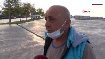 """Samatya'da alabora olan tekneden kurtulan balıkçı konuştu: """"Balık biraz fazlaydı tekne kaldıramadı!"""""""
