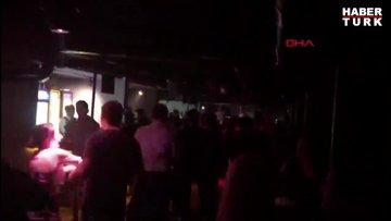 Polisten, 'korona parti'sine baskın: 239 bin TL ceza kesildi
