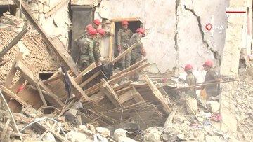 Ermenistan'ın saldırdığı Gence'de hasar gün ağarınca ortaya çıktı