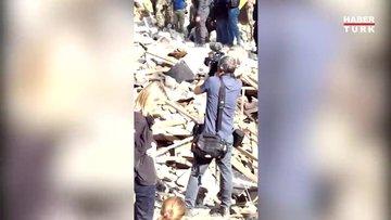 Ermenistan'ın Azerbaycan'a saldırısı sonrası görüntüler