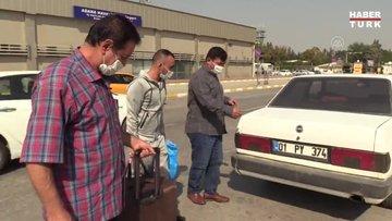 Libya'da mahsur kaldıkları Sirte'den kurtarılan 2 Türk işçi ailelerine kavuştu