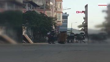 Antalya'da 4 kadın, aralarına aldıkları bir kadını tekme tokat dövdü