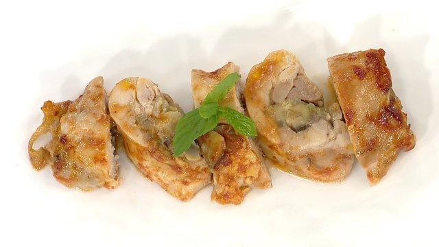 Mantarlı Tavuk Rulo
