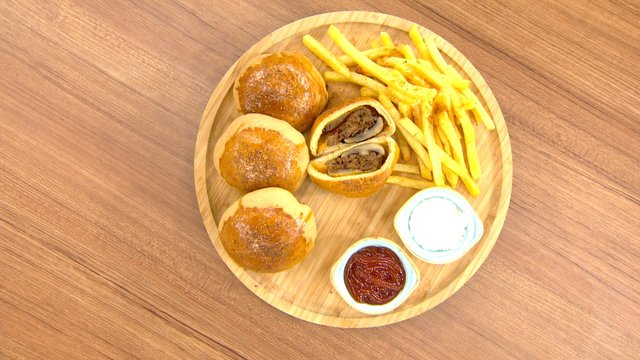 Kapalı Hamburger