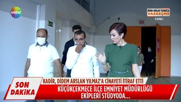 Kadir Bekçi canlı yayında gözaltına alındı