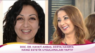 44 yaşındaki Derya Hanım'ın değişim serüveni!