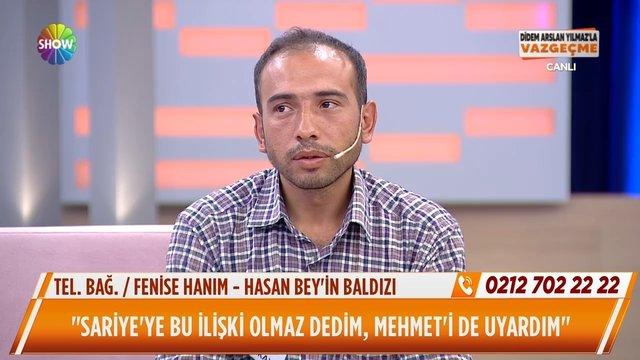 Sariye ile Mehmet'i kim tanıştırdı?