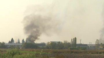 Ermenistan, Azerbaycanın Terter kentindeki bir pamuk fabrikasını vurdu
