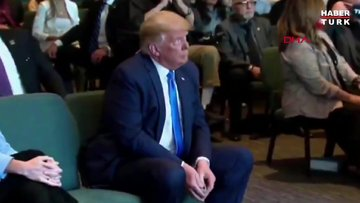 ABD Trump seçimleri kazanması için kilisede kutsandı