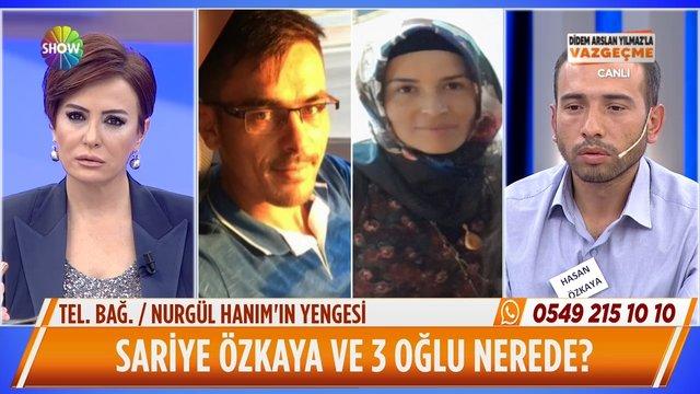 Mehmet'in eşi canlı yayına bağlandı!