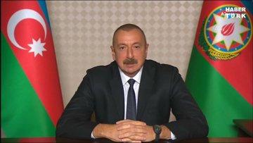 Azerbaycan Cumhurbaşkanı Aliyev, ulusa sesleniş konuşması yaptı