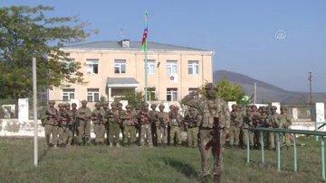 Azerbaycan askerleri, Zengilan kent merkezine Azerbaycan bayrağı dikti