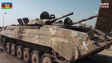 Ermenistan askerleri, bazı mevzilerde tanklarını bırakarak kaçtı