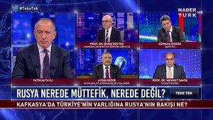 Teke Tek - 20 Ekim 2020 (Kafkasya'da Türkiye'nin varlığına Rusya'nın bakışı ne?)