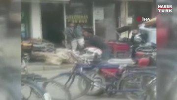 Sopalı, bıçaklı, sandalyeli kavga kamerada: 5 yaralı