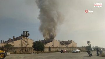 Kütahya E Tipi Kapalı Cezaevi'nde yangın