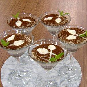 Türk Kahveli 3 renkli puding