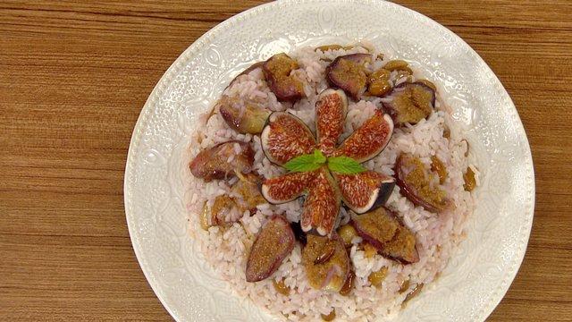 İncirli pirinç pilavı