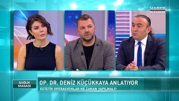 Sağlık Masası - 24 Ekim 2020 (Hangi estetik ve kilo verme ameliyatları birlikte yapılabilir?)