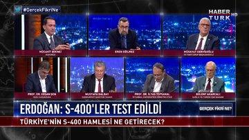 Gerçek Fikri Ne - 24 Ekim 2020 (Türkiye'nin S-400 hamlesi ne getirir, ABD'nin tepkisi neden dinmiyor?)