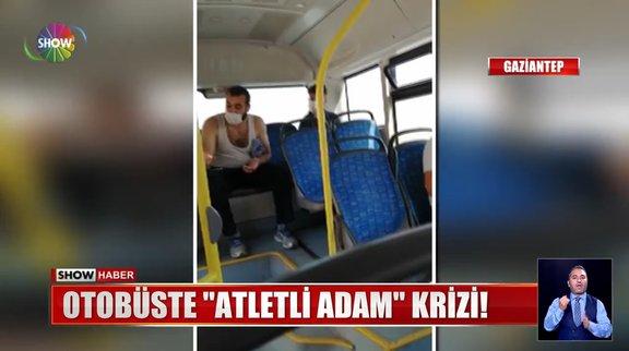 Otobüste atlet krizi!