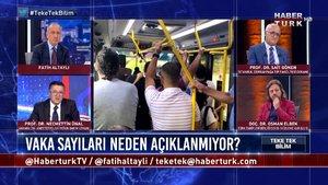 Teke Tek Bilim – 25 Ekim 2020 (Kovid vaka sayıları katlanan İstanbul'da önlem alınıyor mu?)