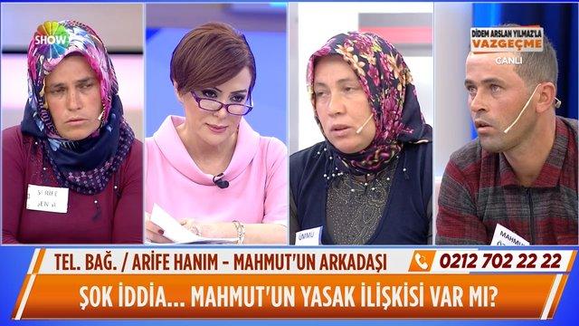 Mahmut Özev'in de yasak ilişkisi var mı?