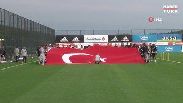 Beşiktaş'ta 29 Ekim kutlandı