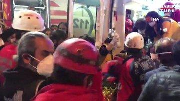 70 yaşındaki Ahmet Çitim Rıza bey apartmanından 33 saat sonra sağ kurtarıldı