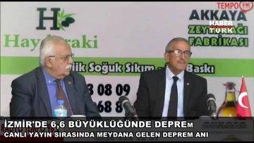 İzmir depremi Aydın'da böyle hissedildi
