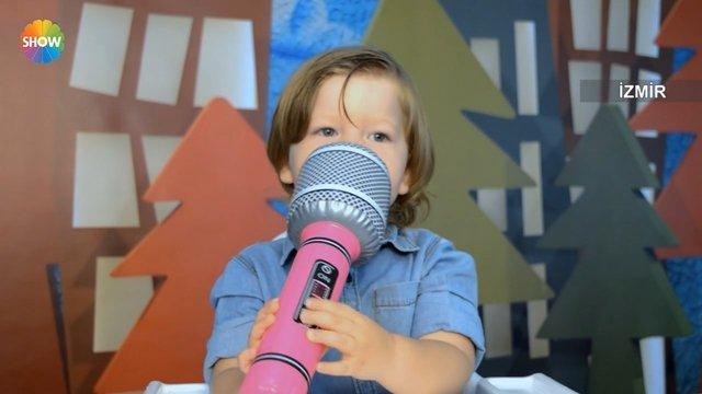 Aras, mikrofonla Doğa ablasına sesleniyor!
