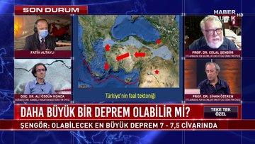 Prof. Dr. Celal Şengör ve deprem uzmanları Habertürk TV'de | Teke Tek Özel - 1 Kasım 2020