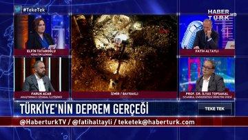 Teke Tek - 2 Kasım 2020 (Deprem ülkesi olan Türkiye'de deprem bilinci ne seviyede?)