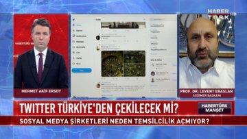 Twitter Türkiye'den çekilecek mi? | Habertürk Manşet - 4 Kasım 2020