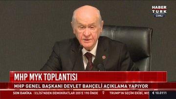 Son dakika: Bahçeli'den CHP'ye çok sert İzmir tepkisi