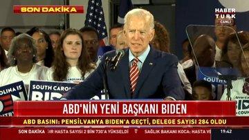 SON DAKİKA! ABD'nin 46. Başkanı Joe Biden seçildi