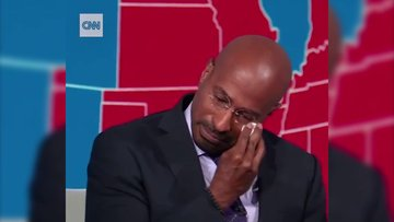 CNN yorumcusu, Joe Biden'ın başkan olduğunu açıklarken gözyaşlarını tutamadı!