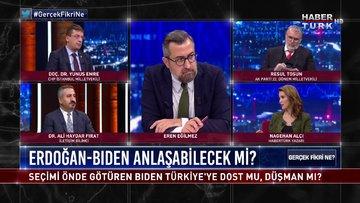 Gerçek Fikri Ne - 6 Kasım 2020 (Cumhurbaşkanı Erdoğan ve Joe Biden anlaşabilecek mi?)