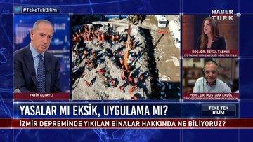 Teke Tek Bilim - 8 Kasım 2020 (İzmir depreminde yıkılan binalar hakkında ne biliyoruz?)