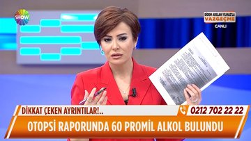 Ali Özev'in otopsi raporunda 60 promil alkol bulundu!