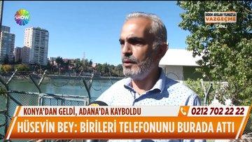 Konya'dan geldi, Adana'da kayboldu!