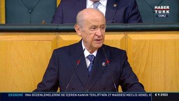MHP lideri Devlet Bahçeli'den açıklamalar