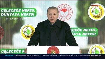 Erdoğan: 5,1 milyar fidanı toprakla buluşturduk