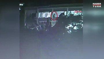 Beyoğlu'nda İspanya vatandaşı kızın 4'üncü kattan düşme anı kamerada