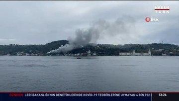 İstanbul'da cami yangını