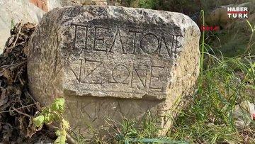 2 bin yıllık olduğu düşünülen tarihi eser, mahalleli fotoğrafını paylaşınca gündem oldu