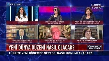Açık ve Net – 15 Kasım 2020 (Türkiye yeni dönemde nerede, nasıl konumlanacak?)