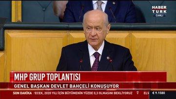 MHP lideri Bahçeli'den 'anayasa' iddialarına sert tepki