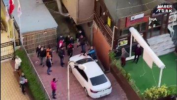 Şarkıcı Bulut Duman'ın uğradığı silahlı saldırı sonrası görüntüleri cep telefonlarına yansıdı